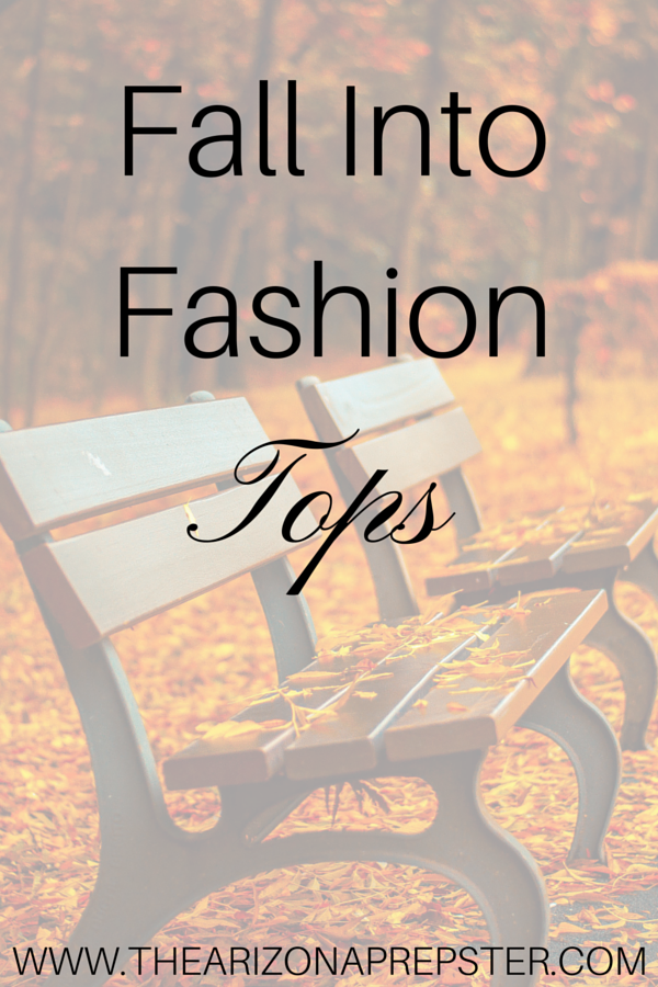 Fall Into Fashion: Tops