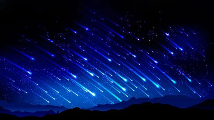 Meteor Berjatuhan