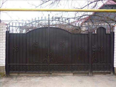 Iron And Steel Gate Design Iron Gate For Residential House With 7