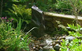 Indian slate water feature