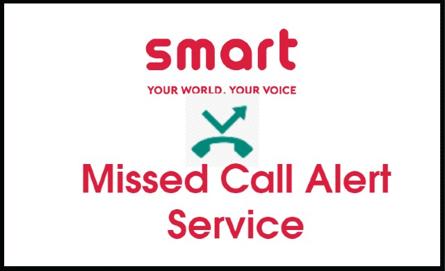 Activate Missed Call Alert (MCA) in Smart Cell