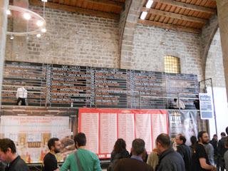 panel de cervezas