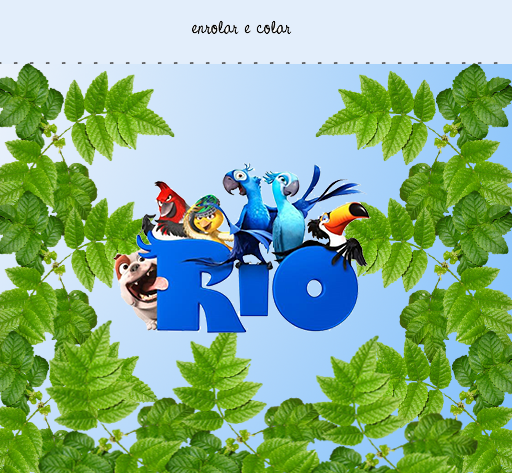 Rio, Free Printable  Labels.