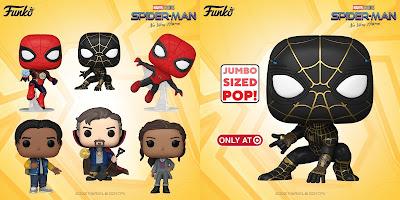 Spider-Man: No Way Home Pop! Marvel Series 1 Vinyl Figures by Funko