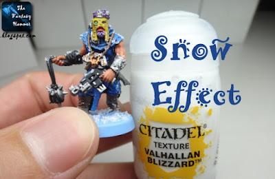 Snow Effect - Citadel Valhallan Blizzard