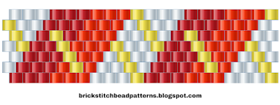 Free Brick Stitch Bead Pattern 10 Download