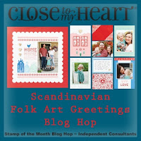 Scandinavian Folk Art - April 2021 SOTM Blog Hop