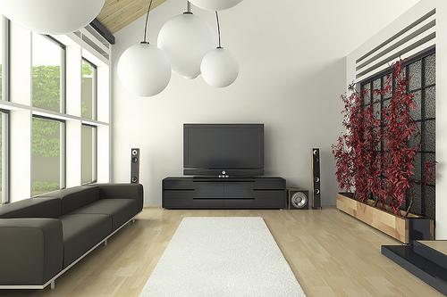appealing black living room interior designs | Attractive And Elegant Living Room Design Ideas
