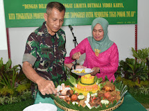 Topdam XIII Merdeka Gelar Acara Syukuran HUT Ke-73 Topografi Angkatan Darat Tahun 2019