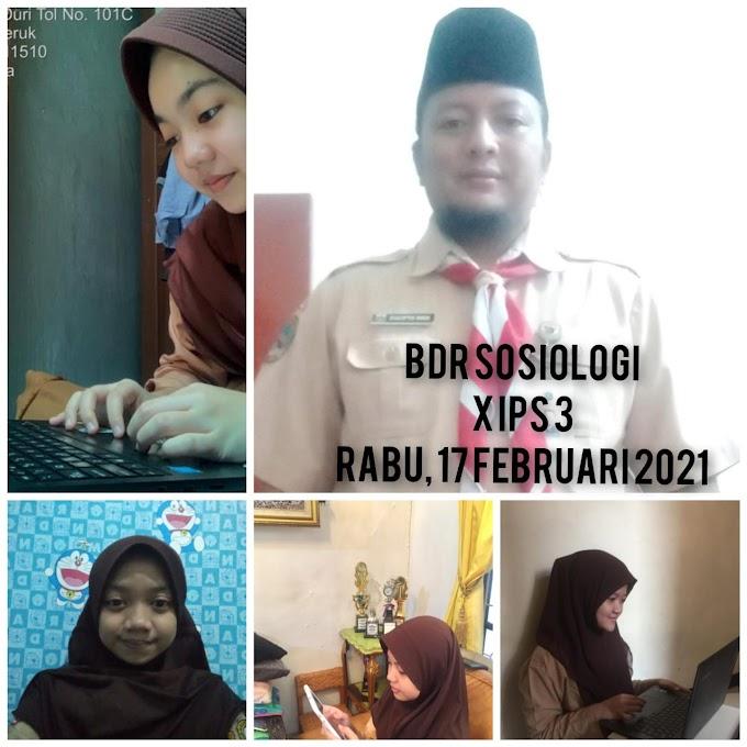 Sosiologi 10 IPS 3 (24 Februari 2021)