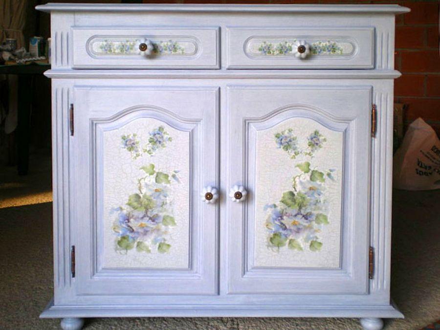 El rincon de angela como reciclar un mueble de madera con - Tunear muebles viejos ...