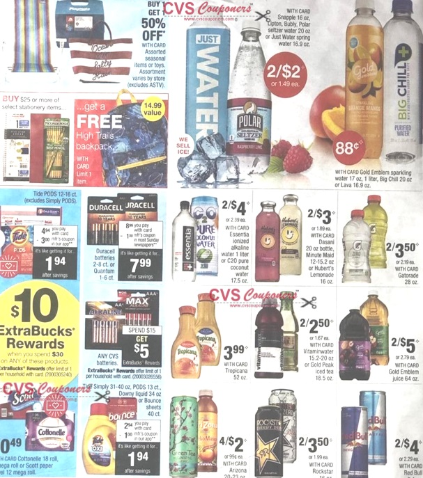 CVS Weekly Ad Preview 721-727 - Page-2