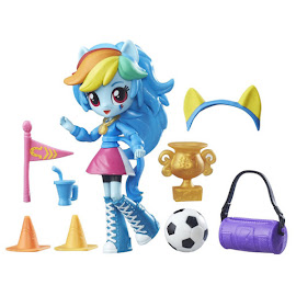 My Little Pony Equestria Girls Minis Pep Rally School Pep Rally Set Rainbow Dash Figure