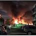 Incendio en el Hotel Embajador, ubicado en la avenida Sarasota