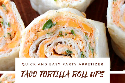 ★★★★★ 2212 TACO TORTILLA ROLL UPS