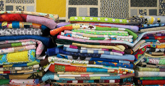 Sixty-Seven Quilts Delivered!