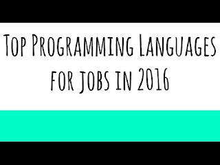 Top 10 programming languages 2016