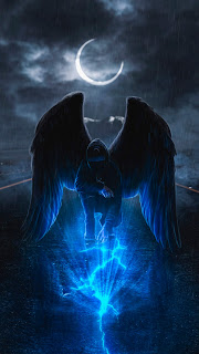 Angel Dark Mobile HD Wallpaper