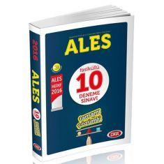 Data ALES Çözümlü 10 Deneme (2016)