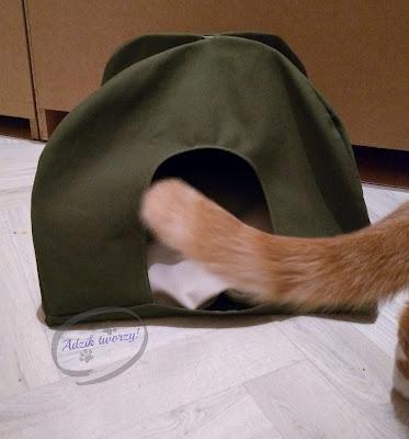 namiot dla kota szycie