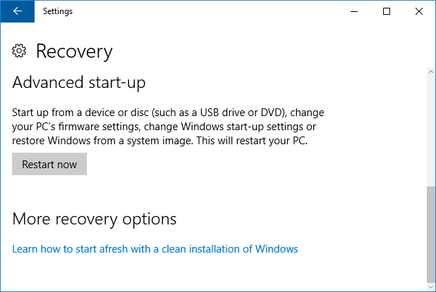 Clean Install Windows 10