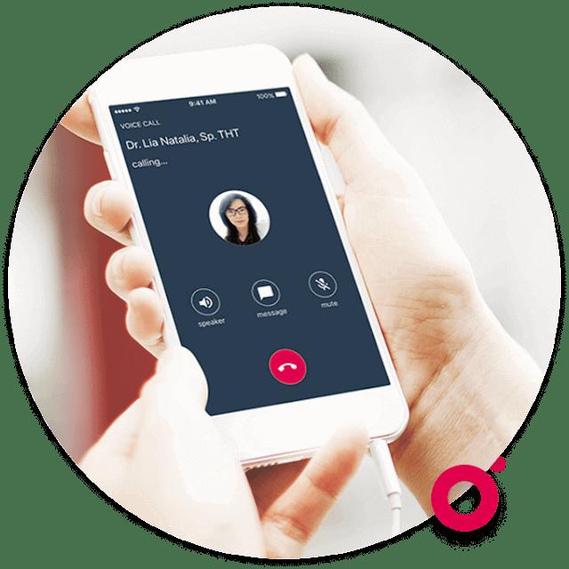 chat dengan halodoc