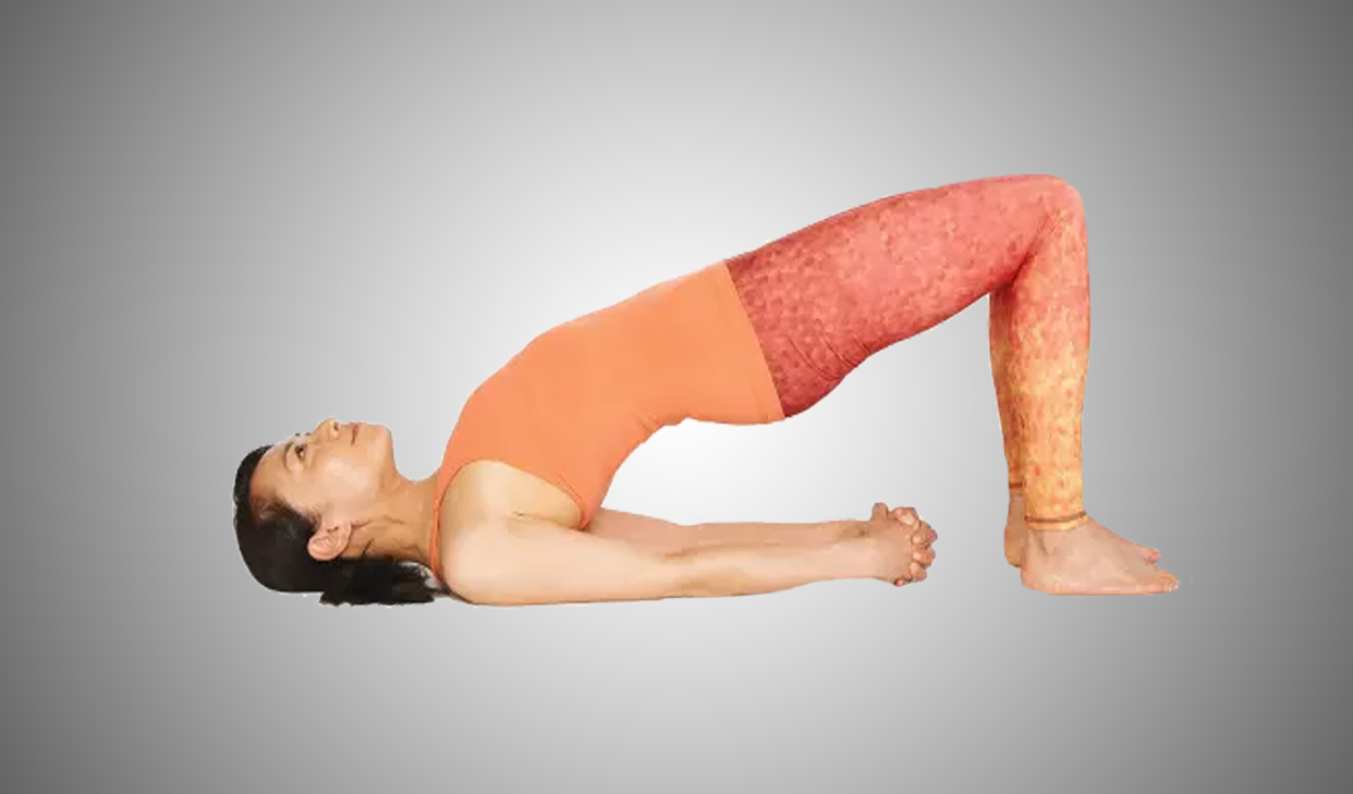 Yoga For Beginners Top Yoga Bridge Pose can be whatever you need ...