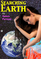 "Book cover: ""Searching Earth"" by Anney Fersoni."