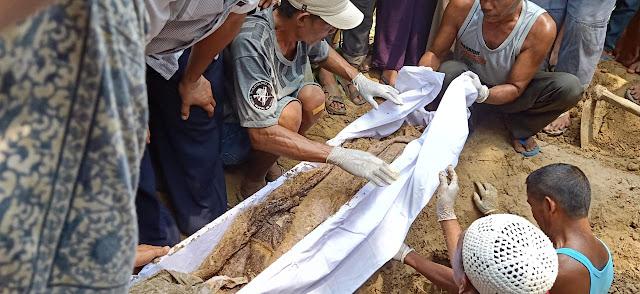 Beda Dukungan, Makam dibongkar Lalu Dipindahkan