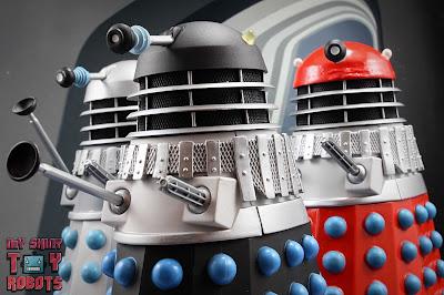Custom 'Mutation of Time' Red Dalek 23