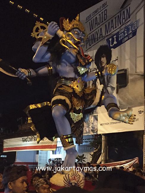 Ogoh-ogoh en Hari Nyepi, Bali