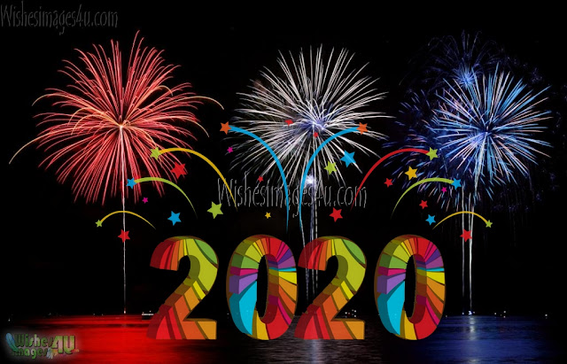 Happy New Year 2020 Fireworks Full HD Photos Download