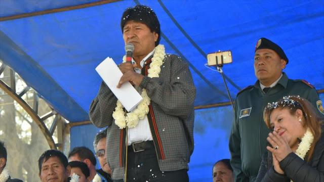 Morales denuncia tramas de EEUU para adueñarse de crudo venezolano