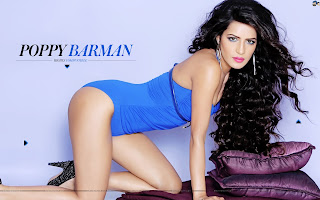 Poppy Barman Spicy Indian Model Item Girl HD Wallpapers