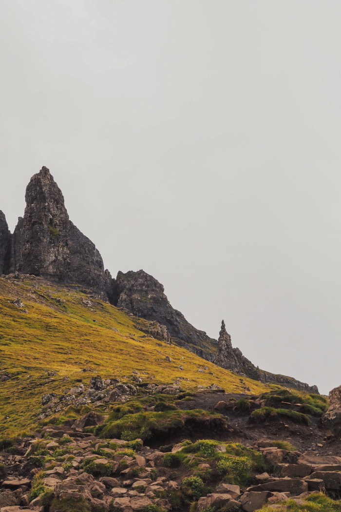 The Old man of Storr sur l'île de Skye en Ecosse