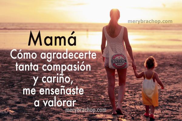 frases para mi mama me enseño gracias mami madre