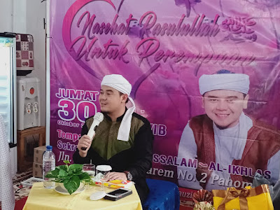 Peringati Maulid Nabi, MT Al-Ikhlas Babussalam Hadirkan Ustadz Hilman Fauzi