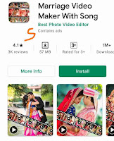 फोटो से वीडियो बनाने वाले एप्स डाउनलोड