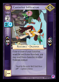 My Little Pony Canterlot Infiltration Seaquestria and Beyond CCG Card