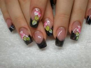 Muyamenocom Uñas Decoradas Con Flores Parte 5