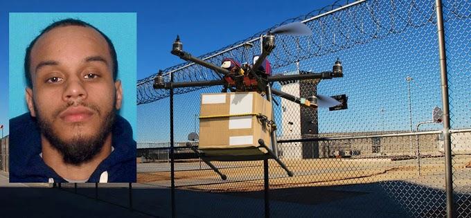 Un ex reo dominicano acusado de enviar drogas, celulares y jeringas  con drones a prisión federal donde estuvo preso