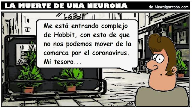 Chiste de Hobbit y coronavirus