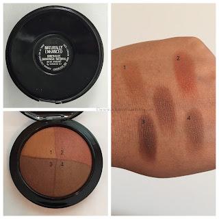 MAC Mineralize Skinfinish in Naturally Enhanced on dark skin