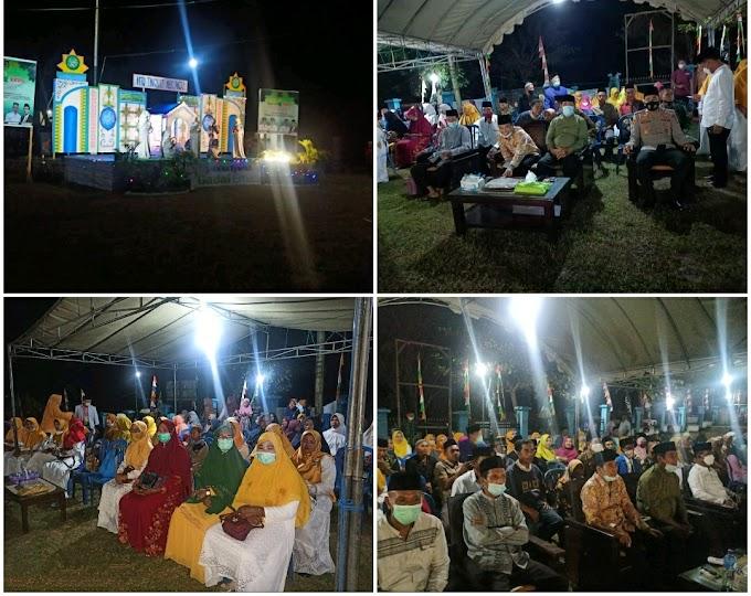 Didampingi Polsek Pajo Serta OPD, Wabup Dompu Buka MTQ Ke-28 Tingkat Kecamatan Pajo