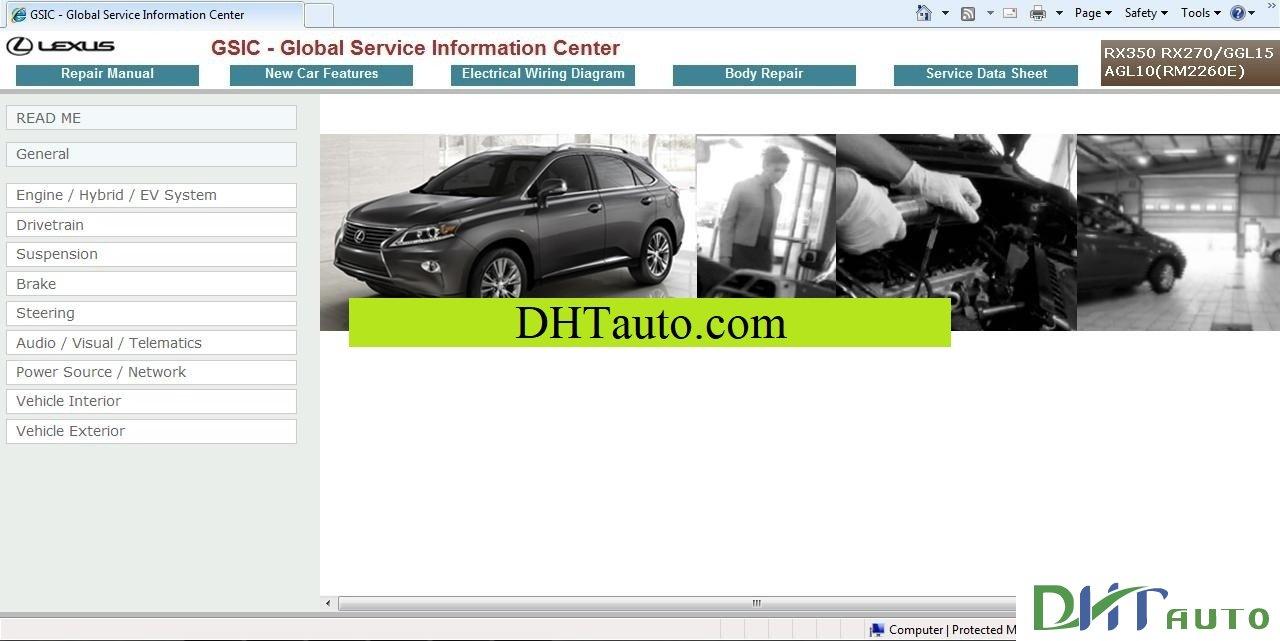 Toyota Lexus ES330 2005 Repair Manual. Link download: