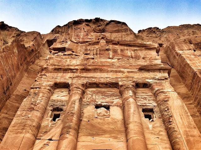 Petra Jordan lost city kings tombs