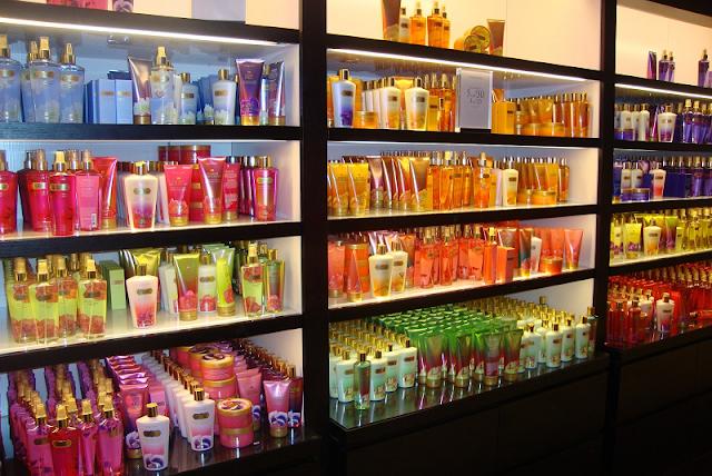 Loja de maquiagem e beleza Victoria's Secret Miami