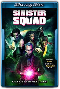 Sinister Squad 2016 720p e 1080p BluRay Dual Áudio