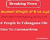తెలంగాణలో కరోనావైరస్ తో 6 గురి మృతి, అందరూ ఢిల్లీ వెళ్లి వచ్చారు