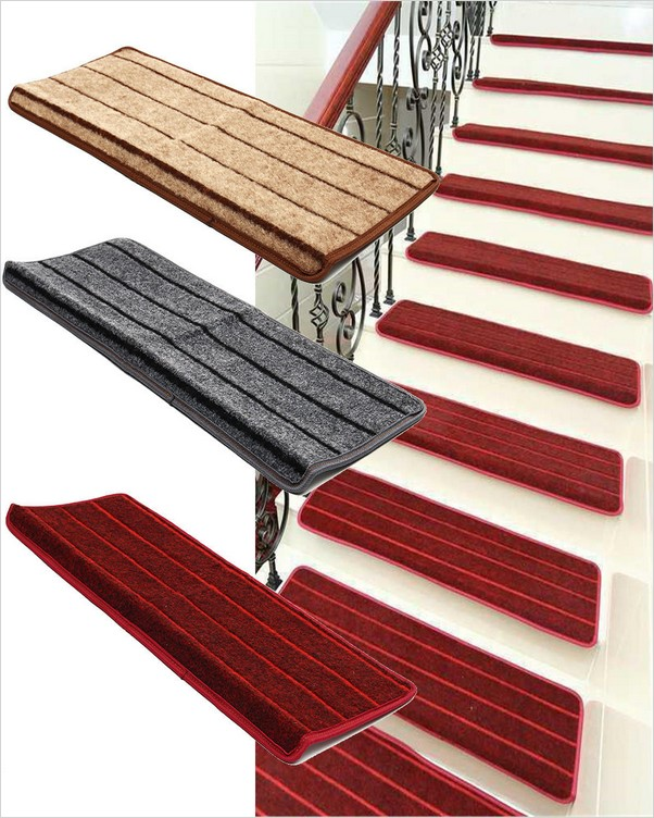 √√ Non Slip Stair Treads Carpet Home Interior Exterior Decor   Oak Stair Treads Menards   Prefinished Stair   Treads Carpet   Stair Nosing   Modern Stair   Wood Stair Railing